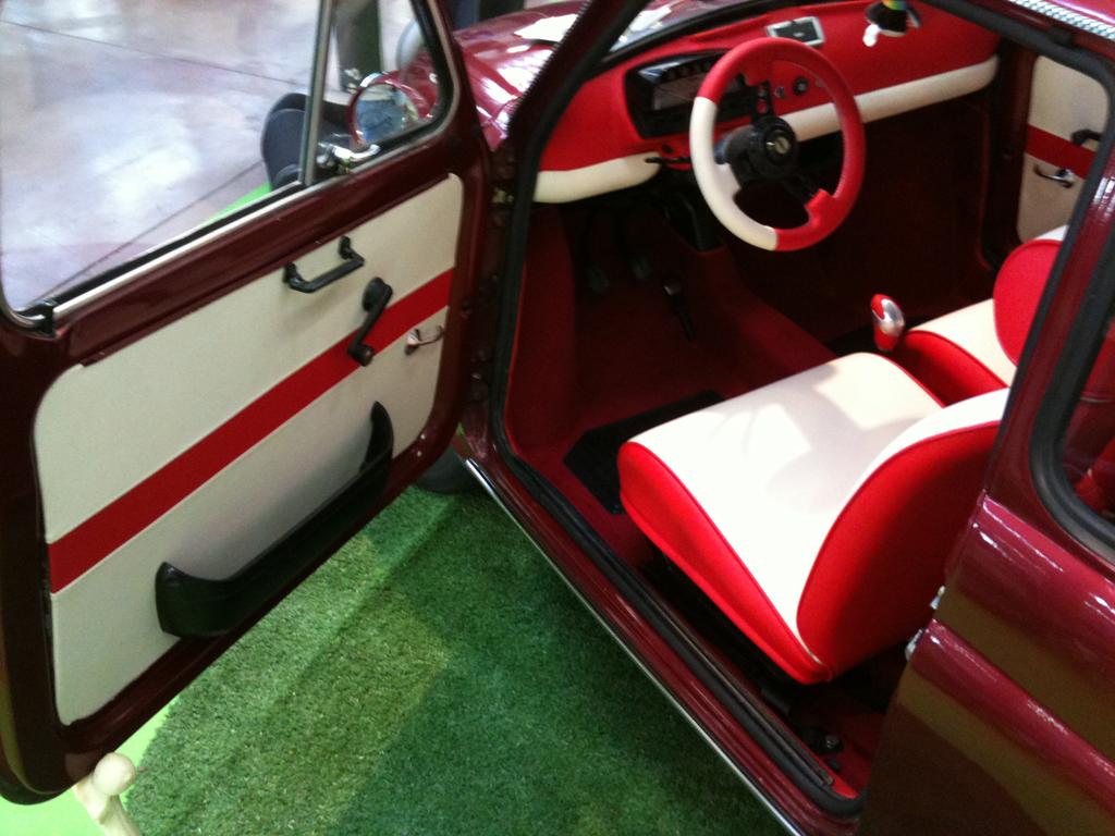 Tappezzeria Interni Fiat 500